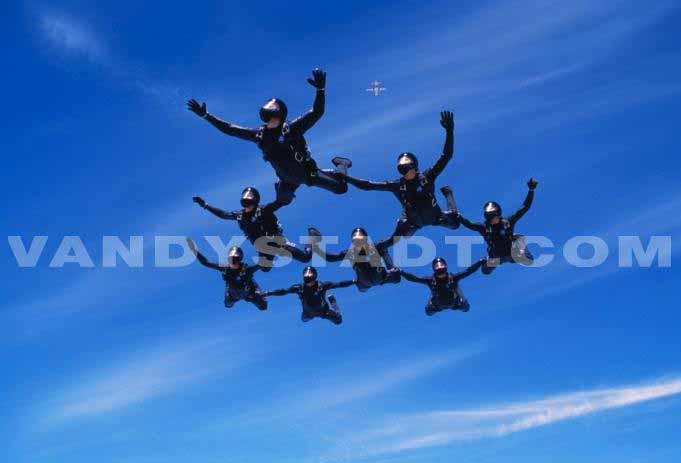 Parachutisme - Fallschirmspringen geschichte