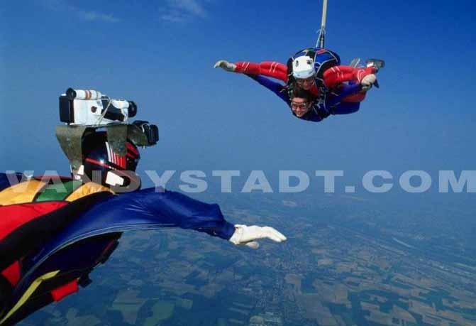 saut en parachute versailles